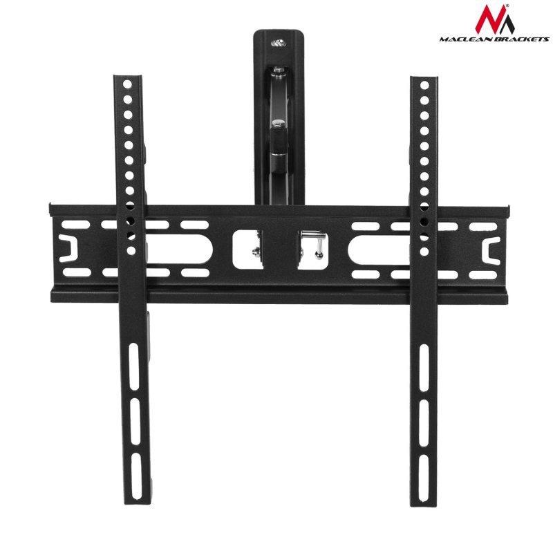 "Uchwyt do telewizora  lub  monitora 26-55"" 30kg uniwersalny Maclean MC-761 czarny max vesa 400x400"