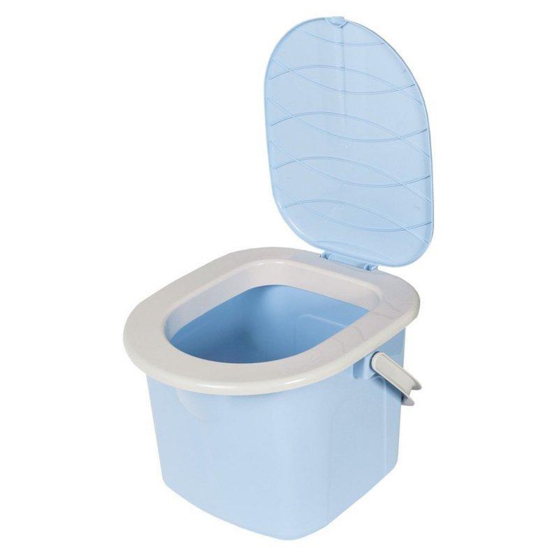 Toaleta turystyczna wiadro 15,5l BranQ niebieska
