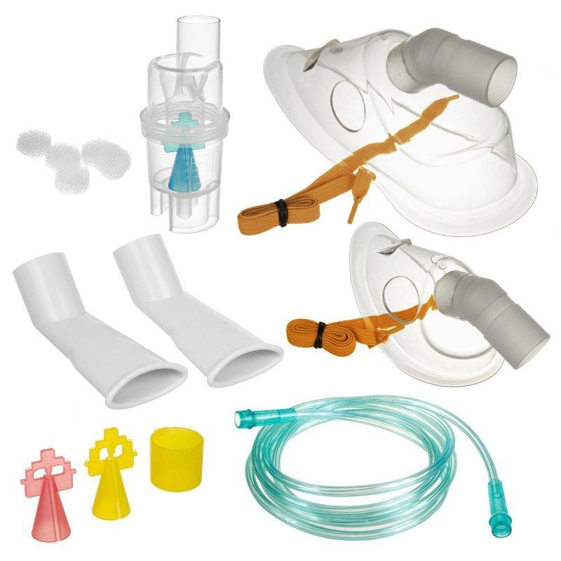 Uniwersalny zestaw wielokrotnego użytku do inhalatorów