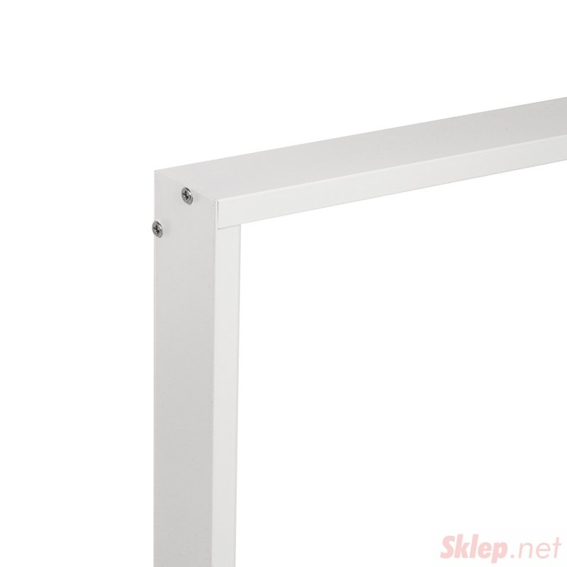 Aluminiowa rama natynkowa dla paneli 595x595mm LED sufitowych Maclean Energy MCE543, wysokość 5cm