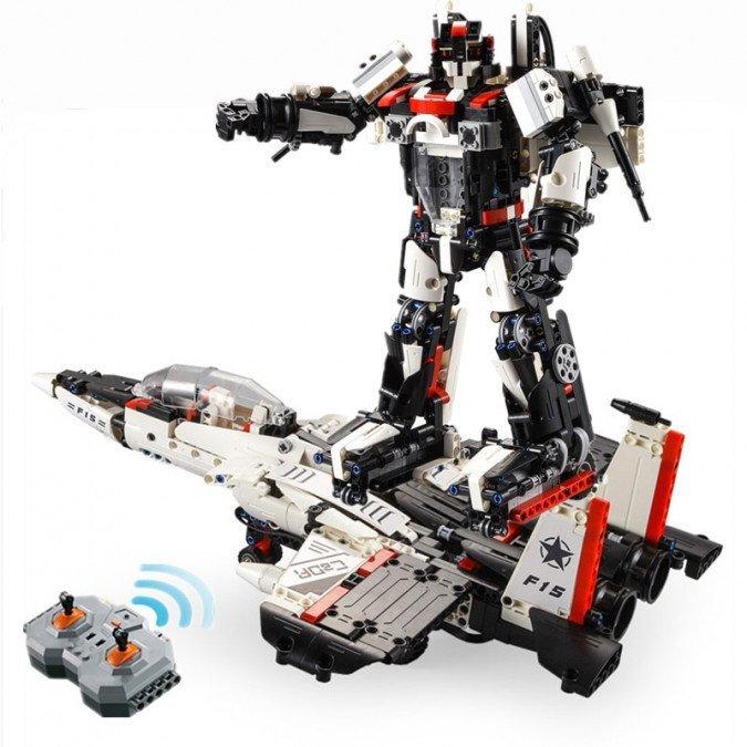 Robot / samolot (2w1) - klocki CADA