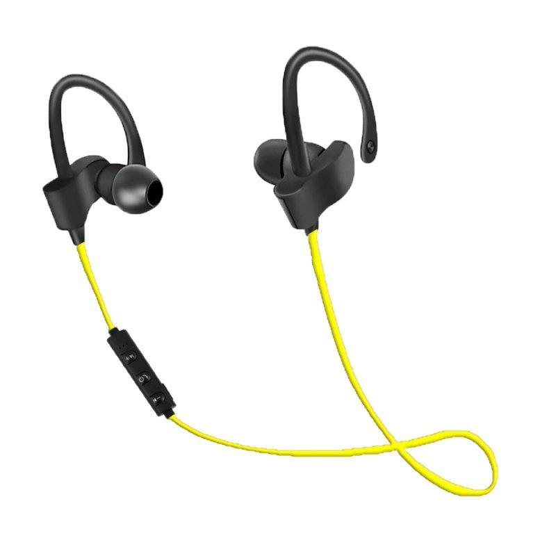 EH188Y Esperanza słuchawki douszne bluetooth sportowe czarno-żółte