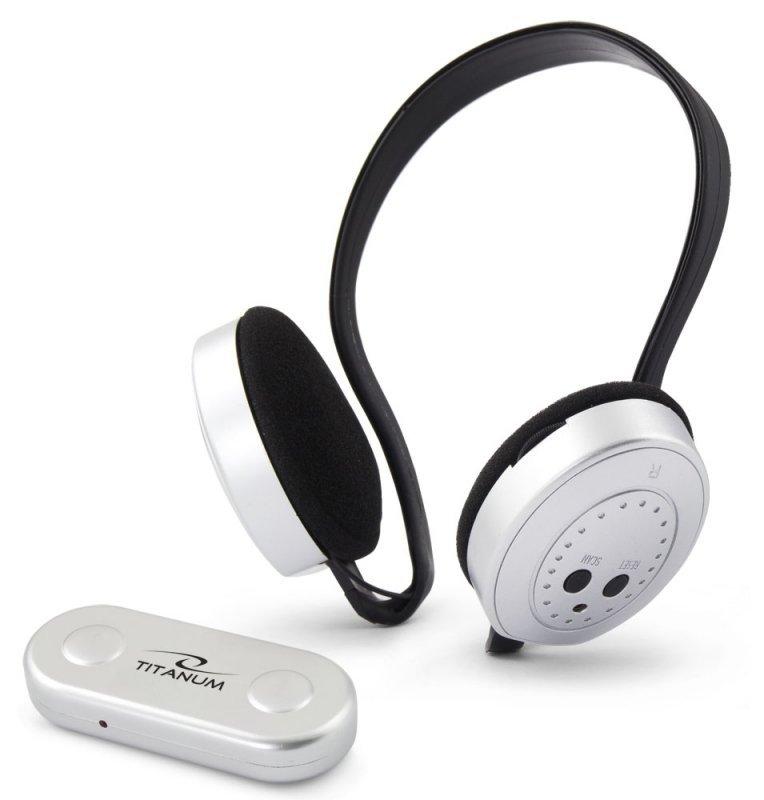 TH111 Titanum słuchawki bezprzew. fm swing