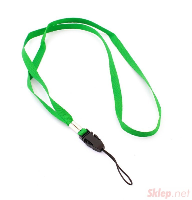 GA1D Smycz do telefonu zielona