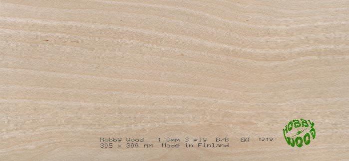 Sklejka brzozowa 5,0 x 300 x 305 mm