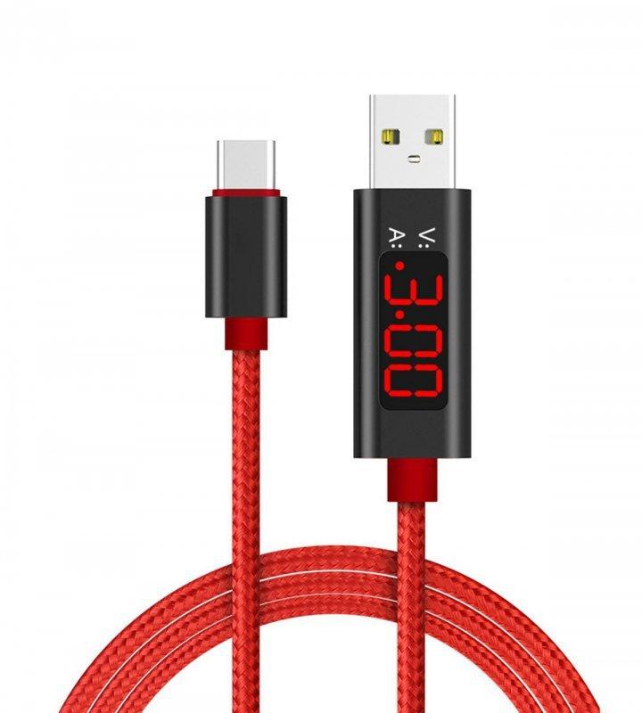 KK21R Kabel 1m typ-c led volt-amper