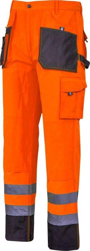 """Spodnie ostrzegawcze czarno-pomarańczowe, """"l"""", ce, lahti"""