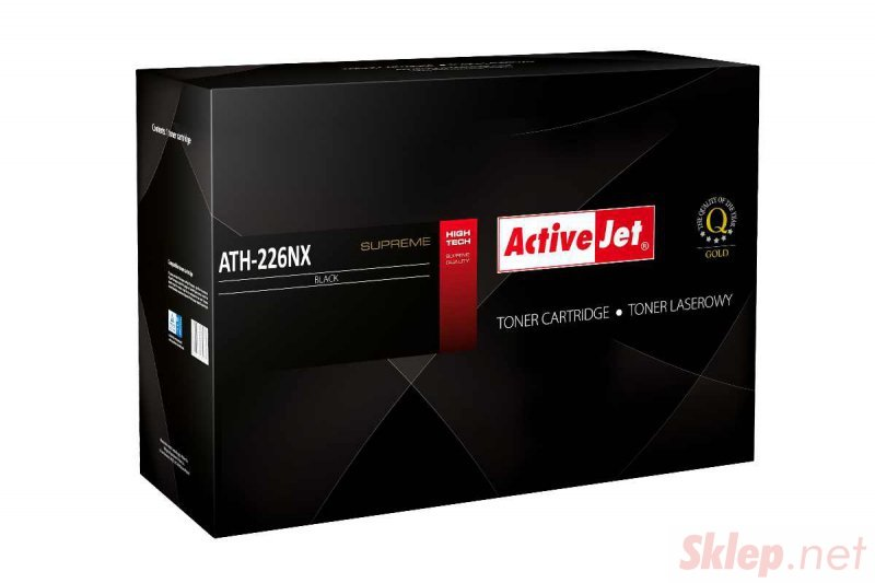 ACJ-ATH-226NX Toner do drukarki  laserowej HP (26X CF226X) czarny