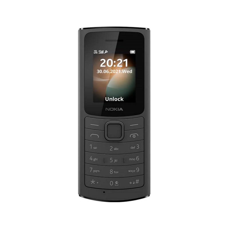 Telefon GSM Nokia 110 4G czarny