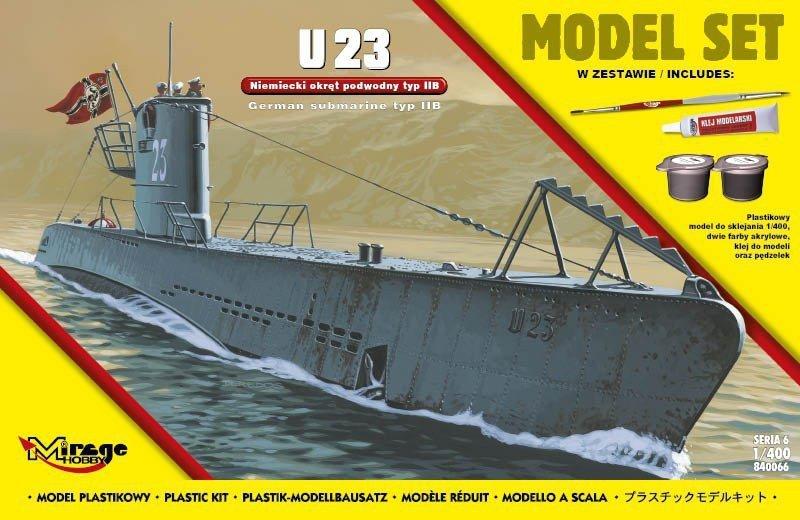 'U23' Niemiecki Okręt Podwodny z II WŚ typ IIB