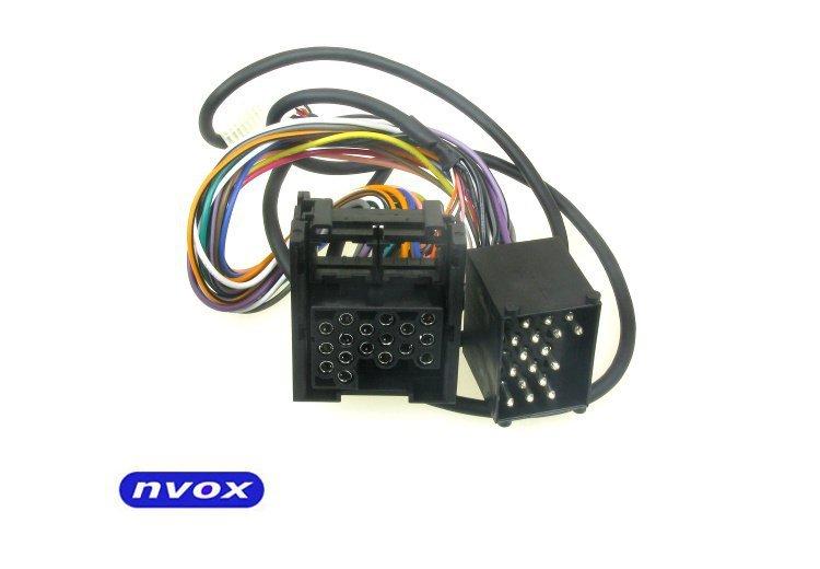Kabel do zmieniarki cyfrowej emulatora MP3 USB SD BMW 10PIN... (NVOX CAB1080A BMW 10PIN)