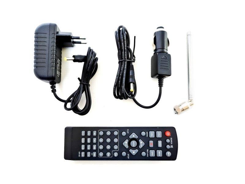 Telewizor led 5cali usb sd av-in pvr dvb-t/t2 mpeg-4/2 12v 230v
