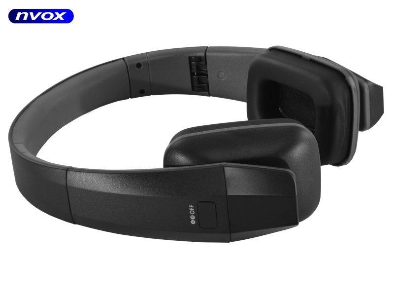 Słuchawki bezprzewodowe na podczerwień IR... (NVOX IRV686)