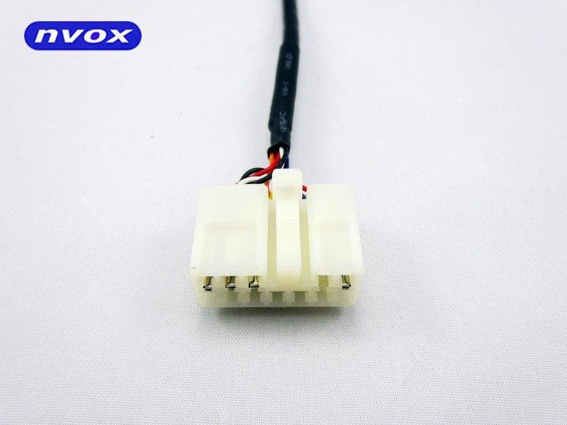 Zmieniarka cyfrowa emulator MP3 USB SD TOYOTA LEXUS 5+7 WTYK ... (NVOX NV1086M TOY 1 LEX 5-7 BIG