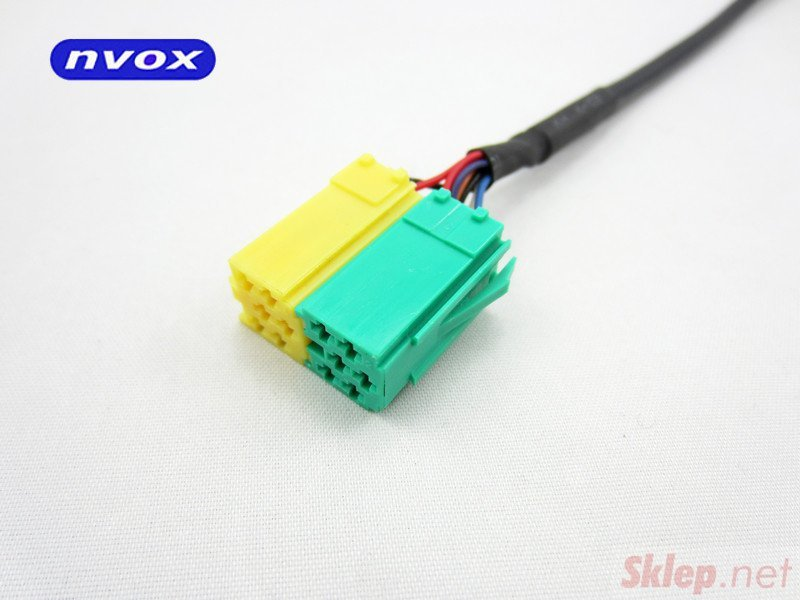 Zmieniarka cyfrowa emulator MP3 USB SD TOYOTA CITROEN PEUGEOT... (NVOX NV1086M TOY AYGO C1 PEU10
