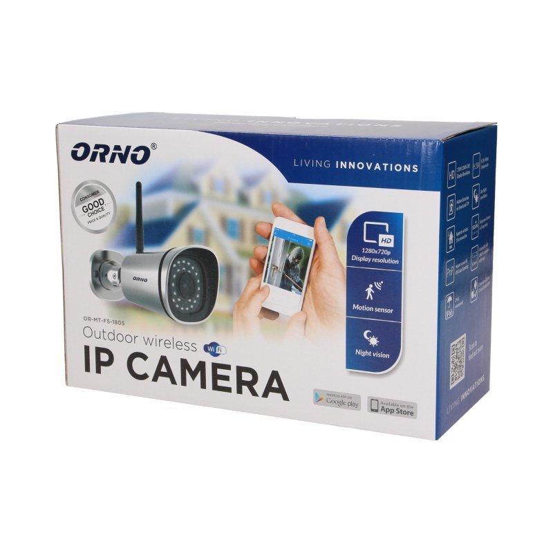 Bezprzewodowa kamera monitorująca IP zewnętrzna, IP66
