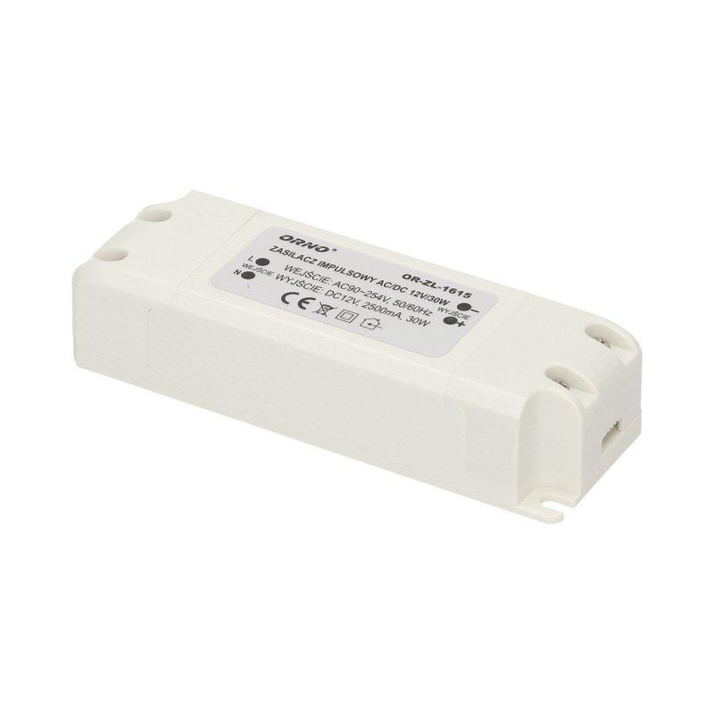Zasilacz do LED  12VDC 30W, IP20