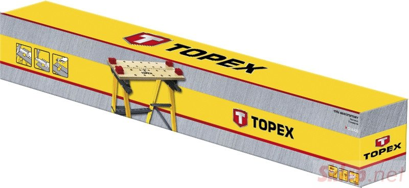 Stół warsztatowy 60 x 24 x 80 cm
