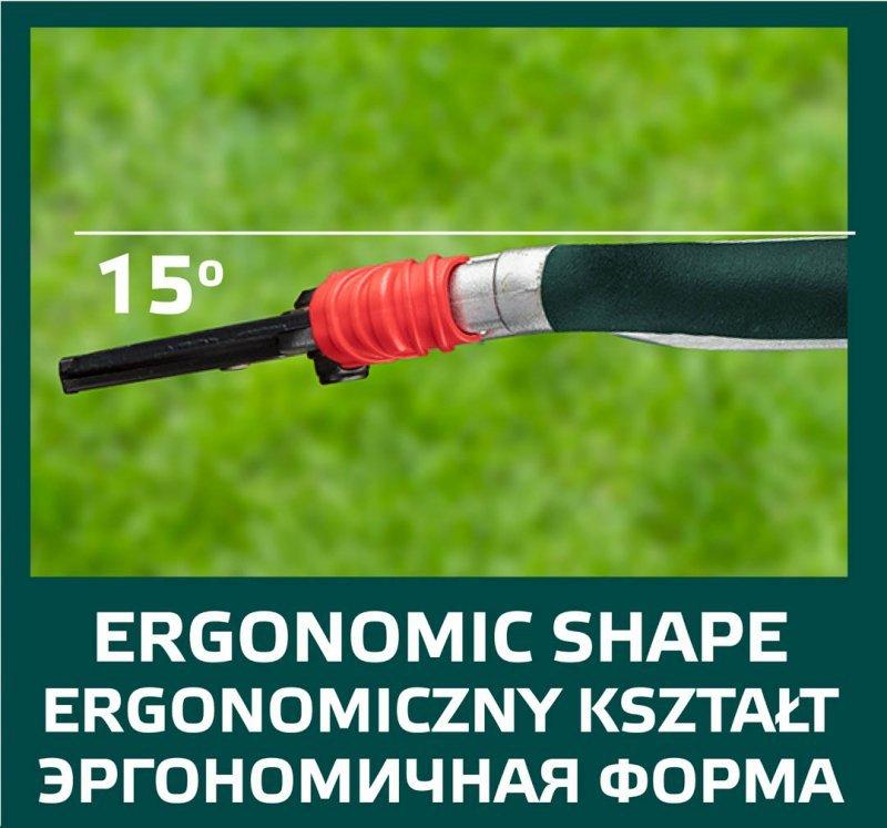 Sekator ogrodowy uniwersalny 195 mm  aluminiowy, średnica cięcia 18 mm