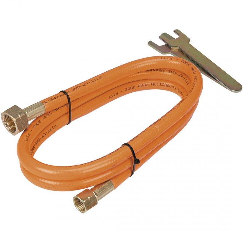 Wąż przyłączeniowy do gazu, 2 m