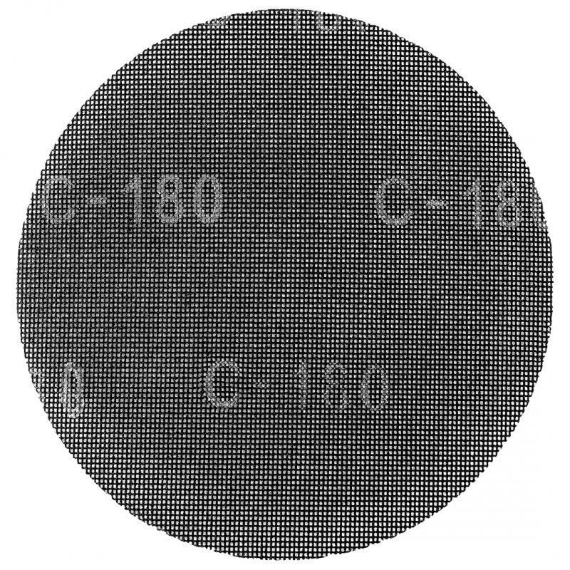 Siatka ścierna na rzep, 225 mm, K180, do szlifierki 59G260, 10 szt.