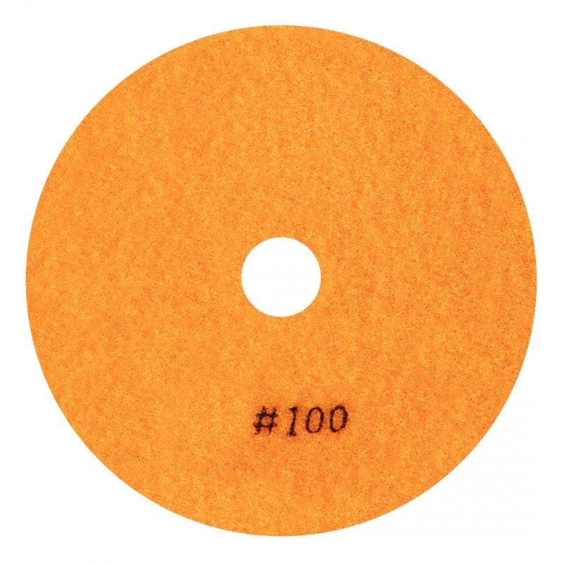 Rzep polerski do gresu 125 mm, K100