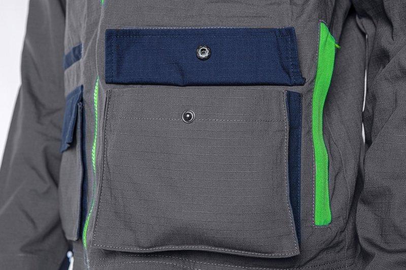 Bluza robocza PREMIUM, 100% bawełna, ripstop, rozmiar M