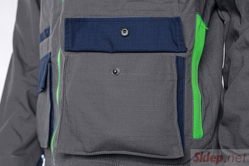 Bluza robocza PREMIUM, 100% bawełna, ripstop, rozmiar XL