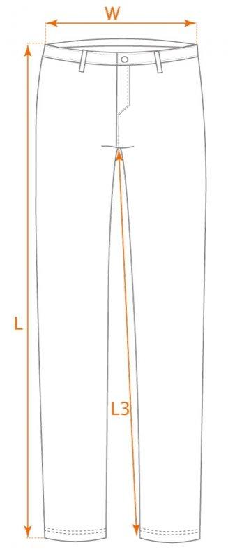 Ogrodniczki robocze CAMO, rozmiar XXXL