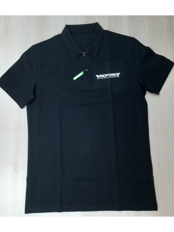 Koszulka Polo WINDFORCE czarna rozmiar XL