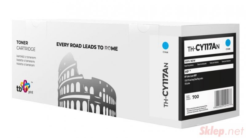 Toner do HP 117A W2071A błękitny TH-CY117AN 100% nowy