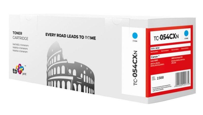 Toner do Canon LBP 620C 054H TC-054CXN błękitny 100% nowy