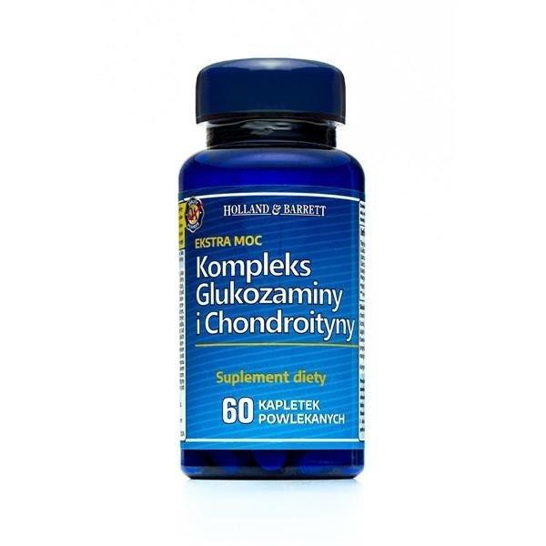 Zestaw Suplementów 2+1 (Gratis) Ekstra Mocny Kompleks Glukozaminy i Chondroityny 60 Kapletek