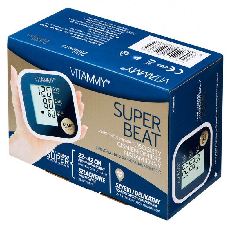 VITAMMY Super Beat Admiral Blue Gold Ciśnieniomierz naramienny 22-42 cm