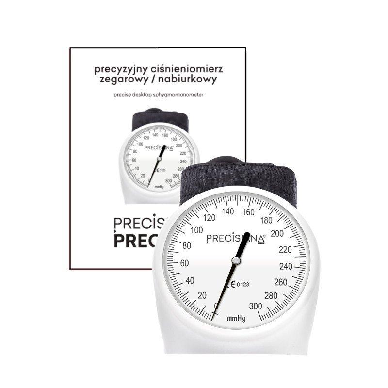 Precisiana Preciser HS-60E Precyzyjny ciśnieniomierz zegarowy/ nabiurkowy
