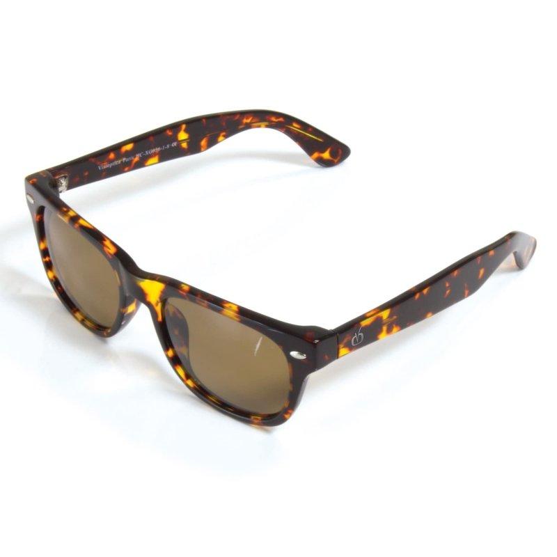 Visioptica by Visiomed France Miami Beach-Lakierowany brązowy Okulary przeciwsłoneczne z polaryzacją