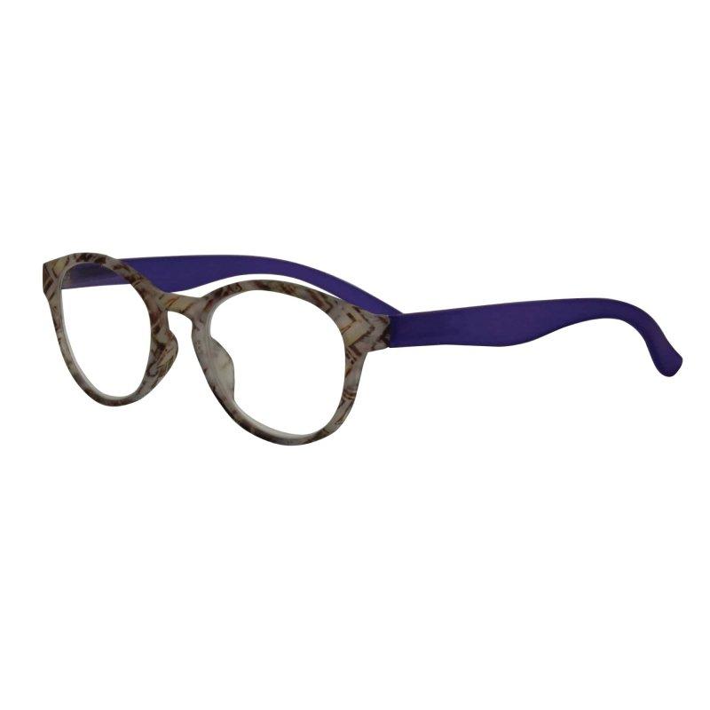 Visioptica By Visiomed France Delhi-+ 2 Szaro niebieskie Okulary korekcyjne do czytania
