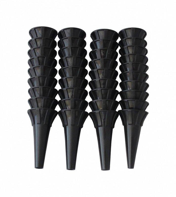 Wzierniki jednorazowe op. 100 szt czarne, 4 mm RIESTER WZIERNIKI JEDNORAZOWE OP. 100 SZT CZARNE, 4 MM