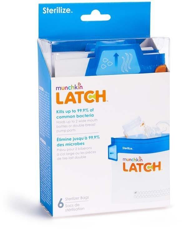 Munchkin Latch Torby do sterylizacji Torby do sterylizacji