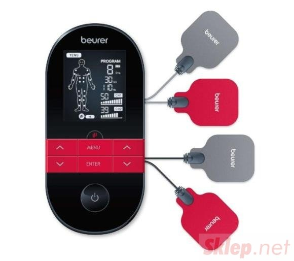 BEURER EM 59 Heat TENS/EMS cyfrowe urządzenie BEURER EM 59 Heat