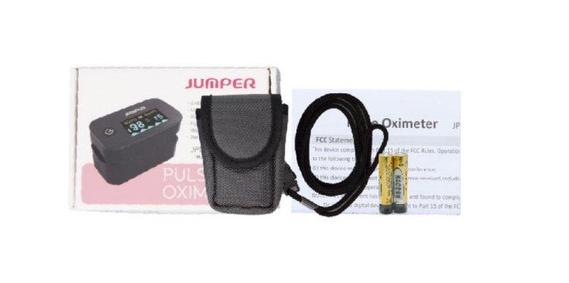 Jumper JPD-500G biały Pulsoksymetr JPD-500G biały
