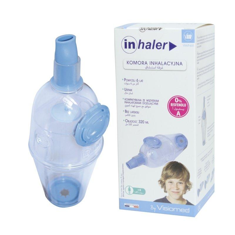 Visiomed Inhaler VM-IN-Ustnik (+6lat) Komora inhalacyjna