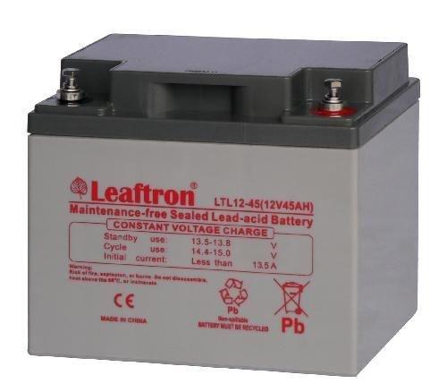 Akumulator żelowy 12V 45Ah Leaftron LTL12-45 Long Life (10-letni)