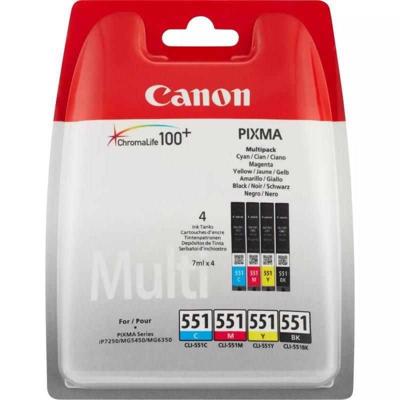 Tusz Canon CLI-551 CMYK Multi Pack