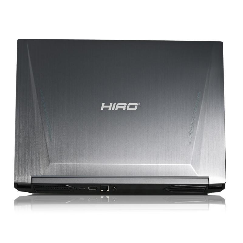 "Laptop do gier HIRO N560 15,6"", 144Hz - i7-10870H, RTX 3060 6GB, 16GB RAM, 1TB SSD M.2, W10"
