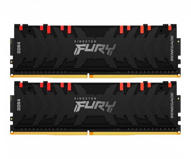 Pamięć RAM HyperX Fury Renegade RGB 16GB (2x8GB) DDR4 3200MHz