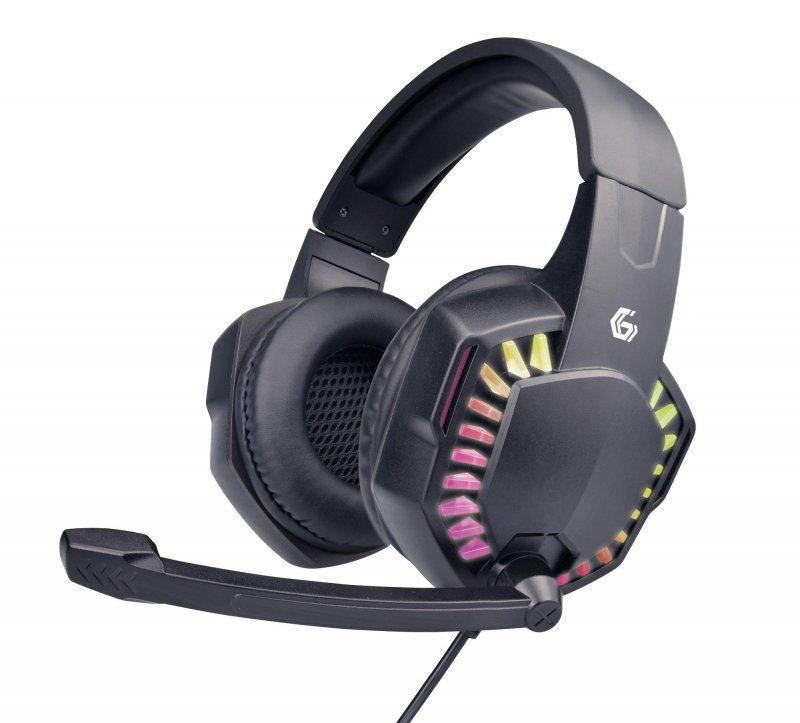 Słuchawki nauszne dla graczy z regulacją głośności Gembird GHS-06