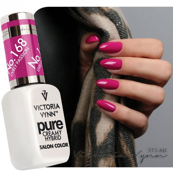 PURE LAKIER HYBRYDOWY LIVELY PASSION 8 ML (168) VICTORIA VYNN