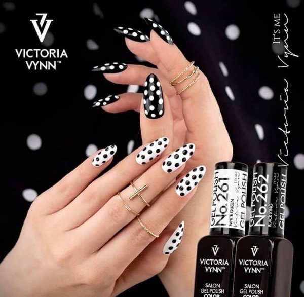 Gel Polish Lakier hybrydowy Black King 8 ml (262) VICTORIA VYNN