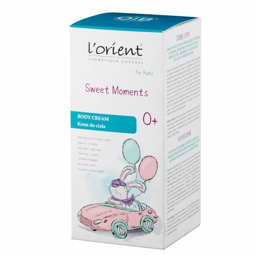 Sweet Moments krem do ciała od 1 dnia życia